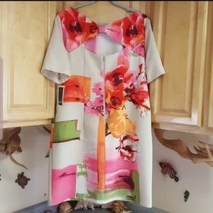 NWT Julian Taylor Dress With Pockets Size 16